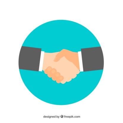 arriere-plan-negociation-affaires-dans-style-plat_23-2147791488